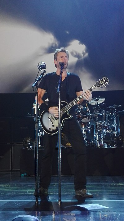 Picture of a band or musician: Chad Kroeger