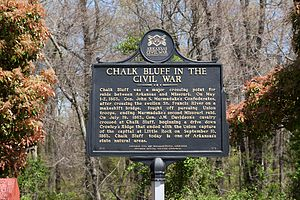 National Register of Historic Places listings in Clay County, Arkansas - Image: Chalk Bluff