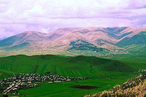 Chambarak - Chambarak landscape