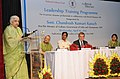 Chandresh Kumari Katoch addressing at the inauguration of the Leadership Training Programme for in-service museum professionals, organised by National Culture Fund, in New Delhi. The Secretary, Minister of Culture.jpg