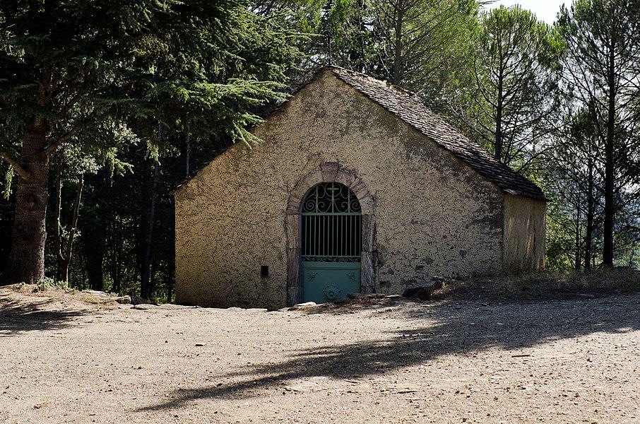Olargues (Hérault) - Chapelle Saint-Martin-des-œufs