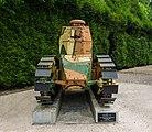 Char Renault vue face clairière armistice Rethondes Oise.jpg