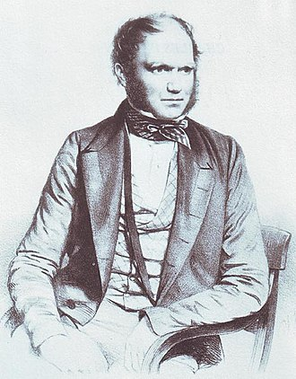 Portraits of Charles Darwin - Image: Charles Darwin portrait by T. H. Maguire, 1849