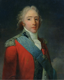 Charles X of France, who authorised the 'Ecclesiastical School of Chavagnes' in 1825.