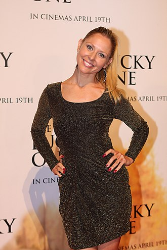 Charli Robinson - Robinson at the premiere of The Lucky One in 2012