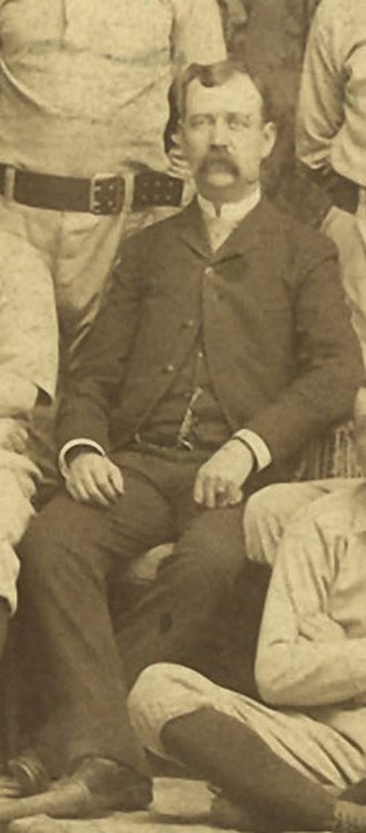 Charlie Hackett - Image: Charlie Hackett (1888 Syracuse Stars)