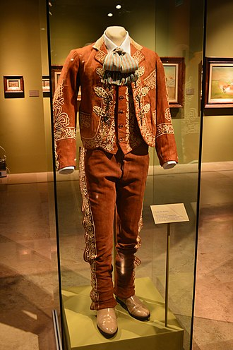 Charro outfit - Charro suit from early 20th century.