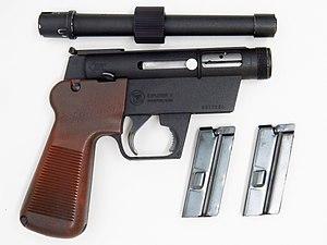 ArmaLite AR-7 - Alignment lug is on barrel underside