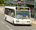 Checkmate Transport bus, 2002 Optare Solo, Hyde, 27 June 2011.jpg