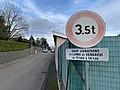 Chemin des Pinachères (Beynost) et panneau 3.5 t.jpg
