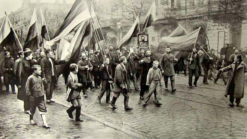 Черносотенцы - православие, самодержавие, народность