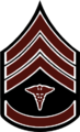 Chevron - Sergeant First Class Hospital Corps 1902-1909.png