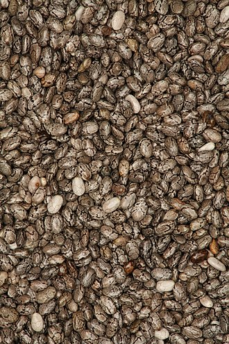 Nutraceutical - Chia is grown commercially for its seeds rich in α-linolenic acid.