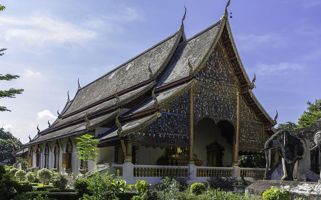 Chiang Mai - Wat Chiang Man - 0007