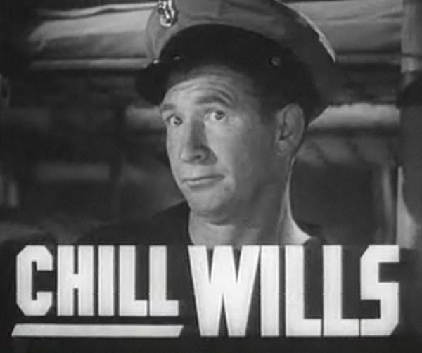 Photo Chill Wills via Wikidata