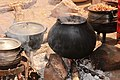 Chimone meal getting ready in the pots Kalanga traditional meals.jpg