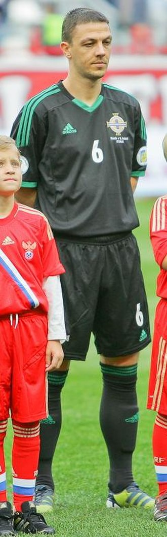 Chris Baird - Baird playing for Northern Ireland in 2012