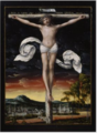 Christ on the Cross - Studio of Lucas Cranach the Elder .PNG