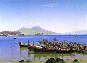 Christen Købke - Bay of Naples