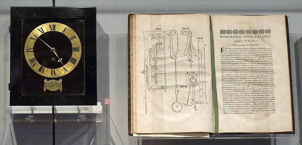 Christiaan Huygens Clock and Horologii Oscillatorii