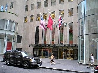 Art auction - Christie's New York City headquarters in Rockefeller Center