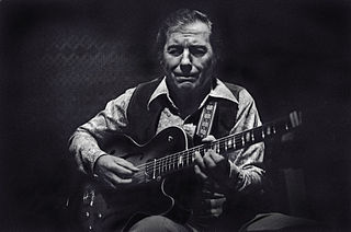 Chuck Wayne American jazz guitarist