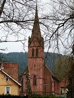 Church Of Höfen panoramio