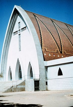 Church in Fort Lamy, Chad.jpg