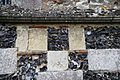 Church of St Mary, Tilty Essex England - chancel wall graffiti 3.jpg