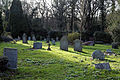 Church of St Mary Theydon Bois Essex England - churchyard at west.jpg