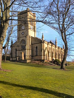Blackley - Image: Church of St Peter Blackley 7