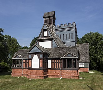 Church of the Presidents (New Jersey) - View of the chapel in 2016 after substantial restoration work