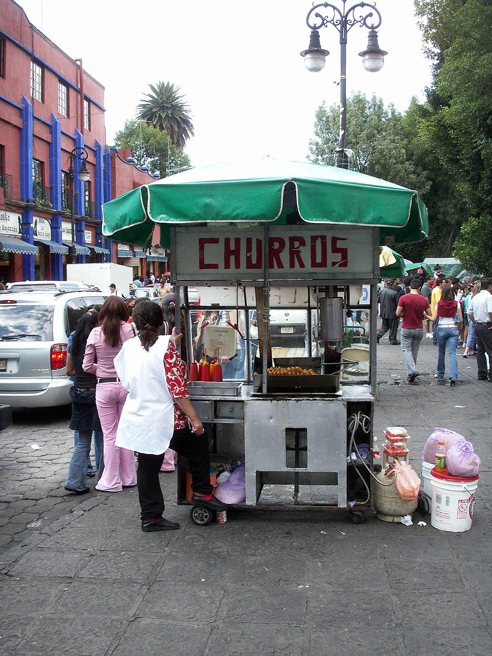 Churros Stand Coyoac%C3%A1n