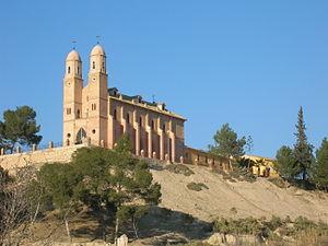 Cieza, Murcia - Hermitage of the Saint Christ of Consolation.