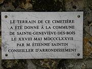 Sainte genevi ve des bois russian cemetery wikipedia Piscine de sainte genevieve des bois