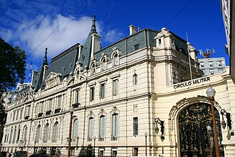 Paz Palace - The former Paz Palace, today the Military Officers' Association.