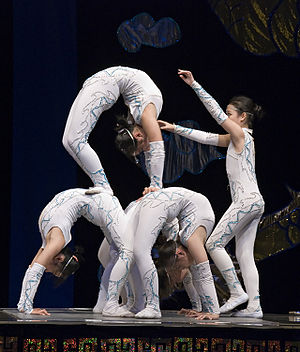 Cirque Shanghai.
