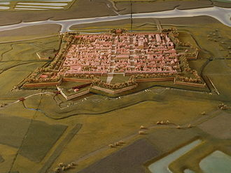Plan-relief - Image: Citadelle de Brouage Plan relief