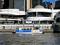CityFerry at Eagle Street Pier July 2015.jpg
