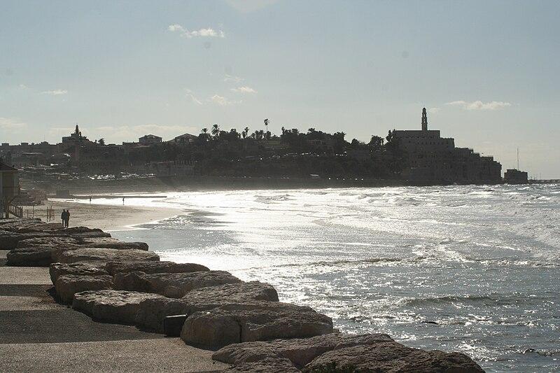 File:City of Jaffa taken from Tel-Aviv.jpg