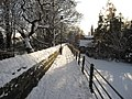 City walls in the snow - geograph.org.uk - 1659852.jpg