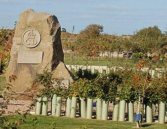 Civil Defence Service - 1939-1945 memorial, at the National Memorial Arboretum.