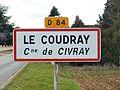 Civray-FR-18-panneau d'agglomération-Le Coudray-2.jpg