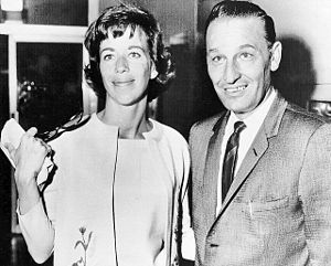 Harry E. Claiborne - Claiborne with Carol Burnett after her divorce proceedings with actor Don Saroyan