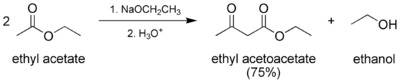 Preparation of ethyl acetoacetate