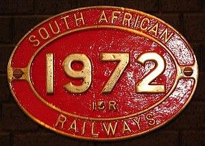 South African Class 15B 4-8-2 - Class 15R