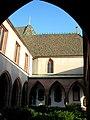 Cloister of Basel cathedral, Swiss. Kreuzgang des Basler Münsters. - panoramio (1).jpg
