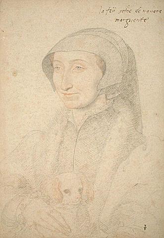 Маргарита Наваррская (рисунок Дюмонтье по картине Клуэ)