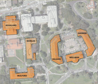 UC Berkeley College of Natural Resources - Image: Cnr map