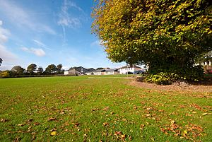 Coachford College - The grounds of Coachford College
